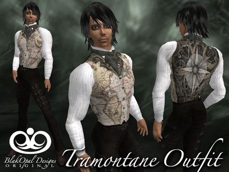 Second Life Marketplace - Tramontane Outfit - Sage