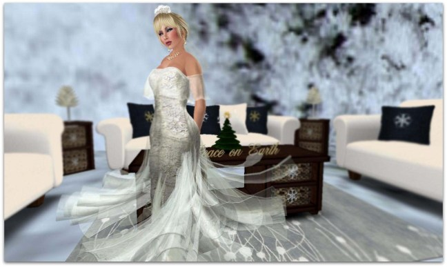 POE Paisley Daisy Winter Gown