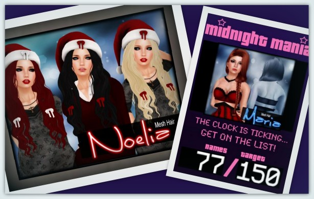 Free Xmas Hairs and MM_Venus